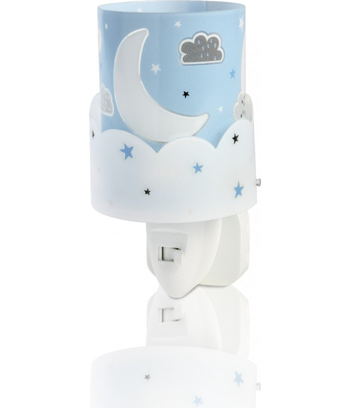 Kids Nightlight Moon blue