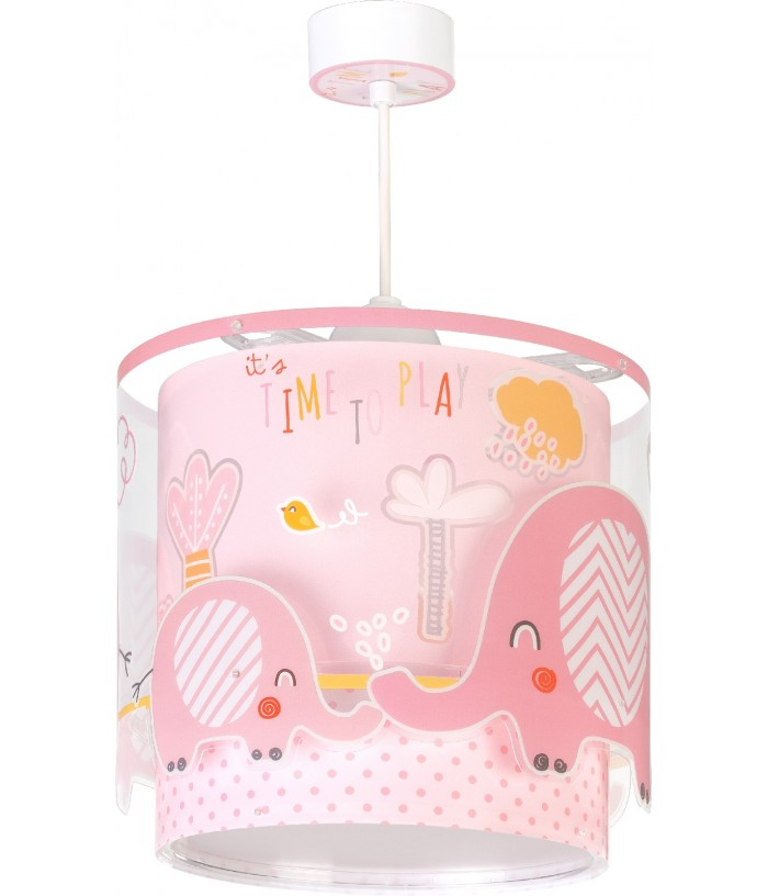 Hanging lamp Little Elephant pink