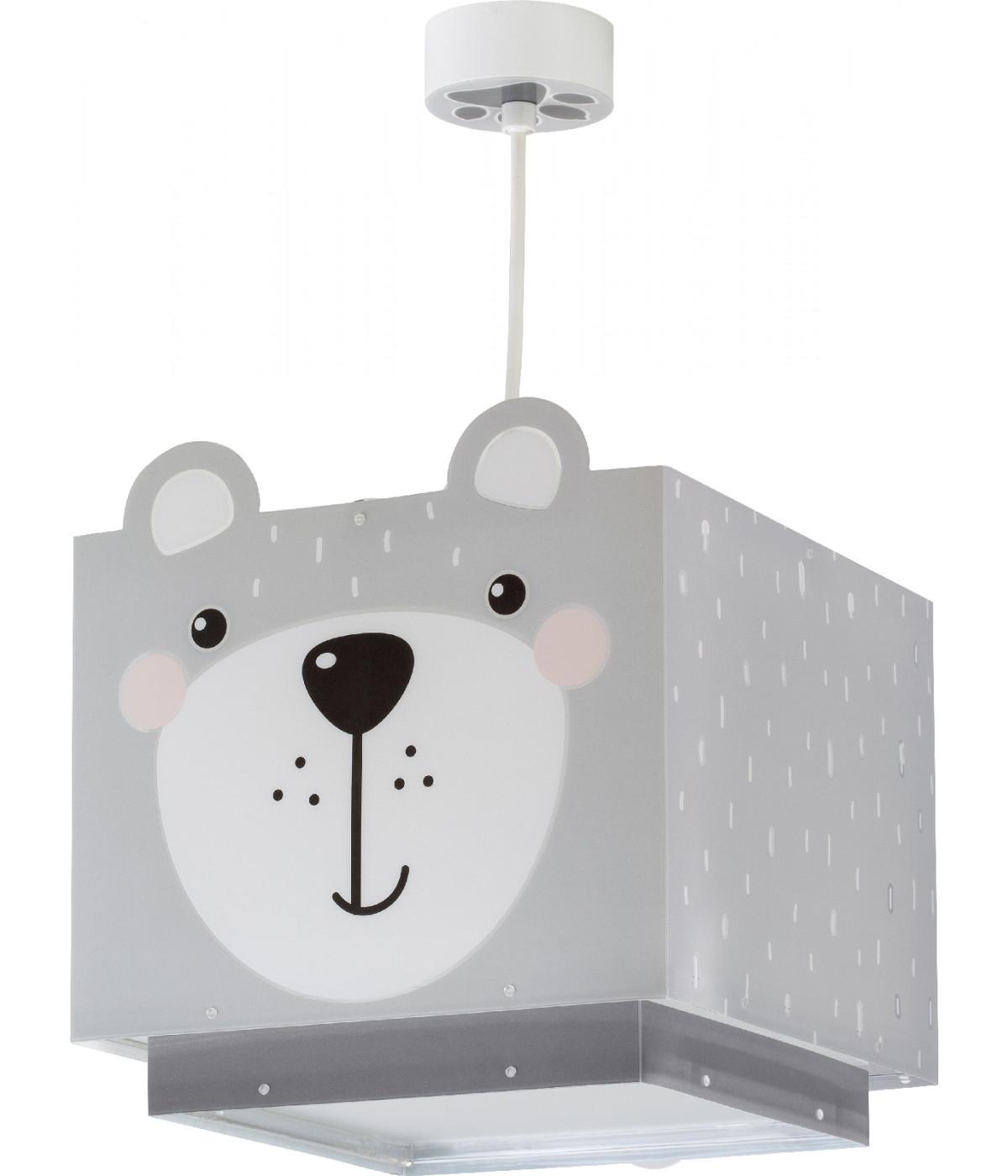 Candeeiro infantil de tecto com urso Little Teddy