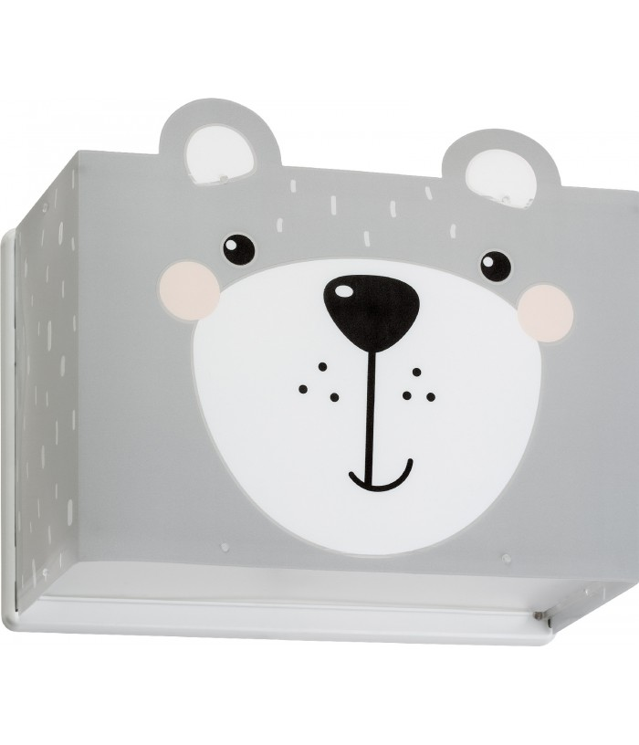 Aplique infantil de pared Little Teddy