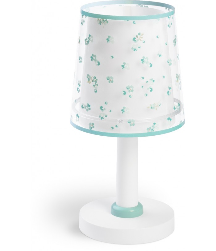 Table lamp Dream Flowers green