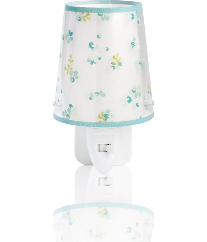 Children night light Dream Flowers green