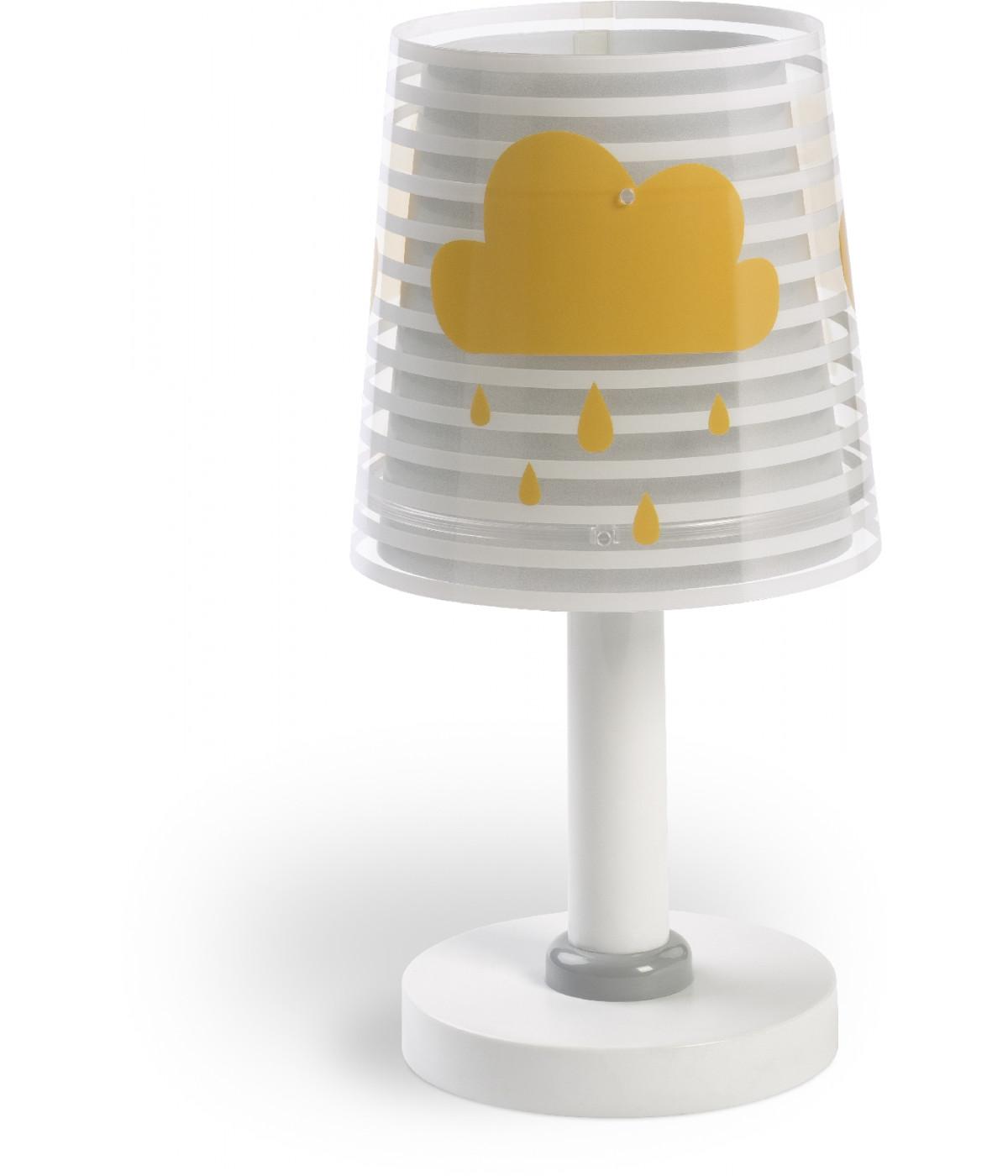 Kids Table lamp Light Feeling grey