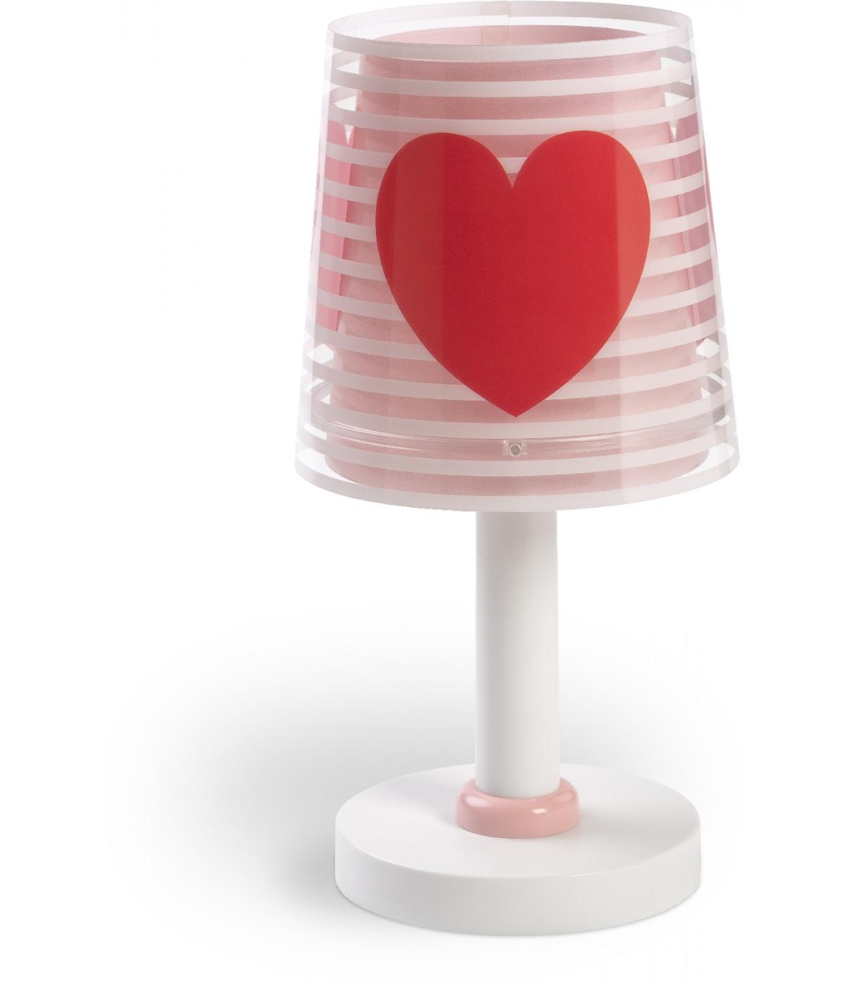 Children table lampLight Feeling pink