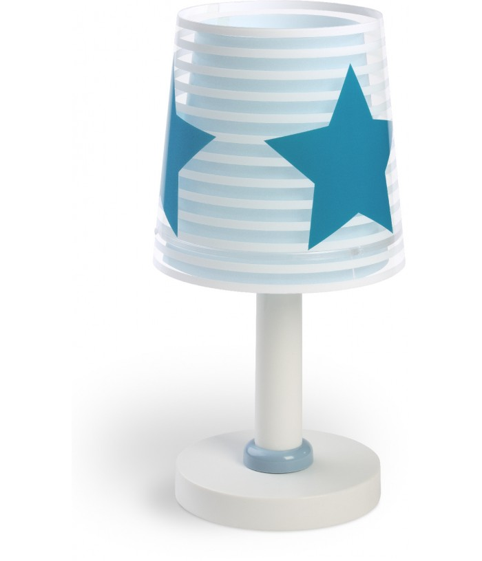 Candeeiro infantil de mesa Light Feeling azul