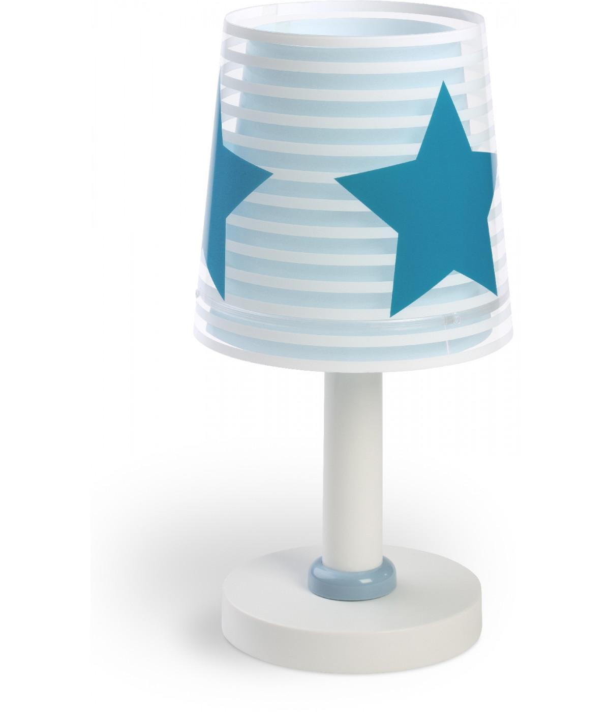 Lampada da comodino Light Feeling blu