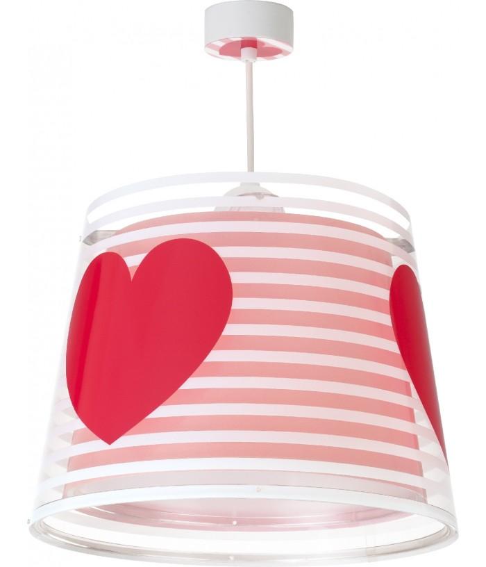 Lampada a sospensione per bambini Light Feeling rosa