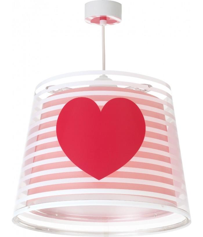 Lámpara Infantil de techoLight Feeling rosa
