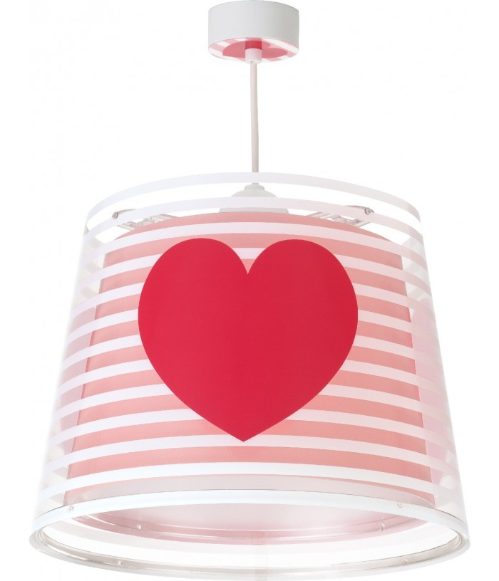 Hanging lamp for Kids Light Feeling pink