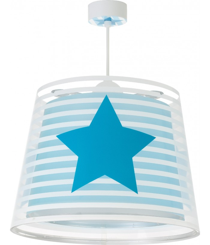 Hanging lamp for Kids Light Feeling blue