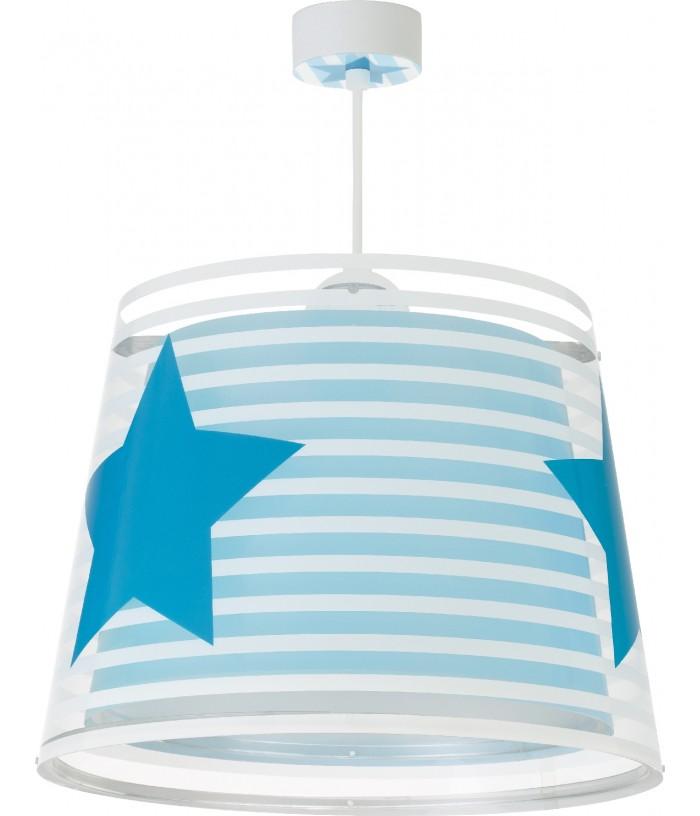 Luminária Pendente Infantil Light Feeling Azul