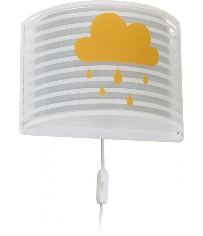Wall lamp for Kids Light Feeling grey