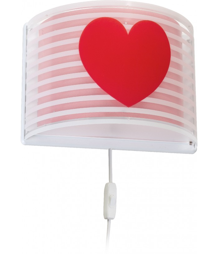 Wall lamp Light Feeling pink
