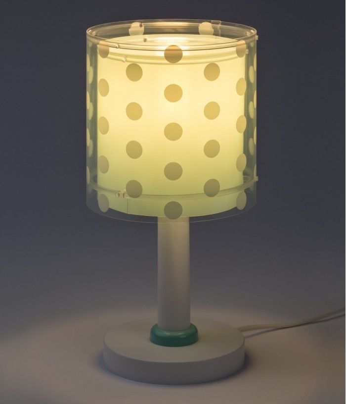 Children table lamp Dots...