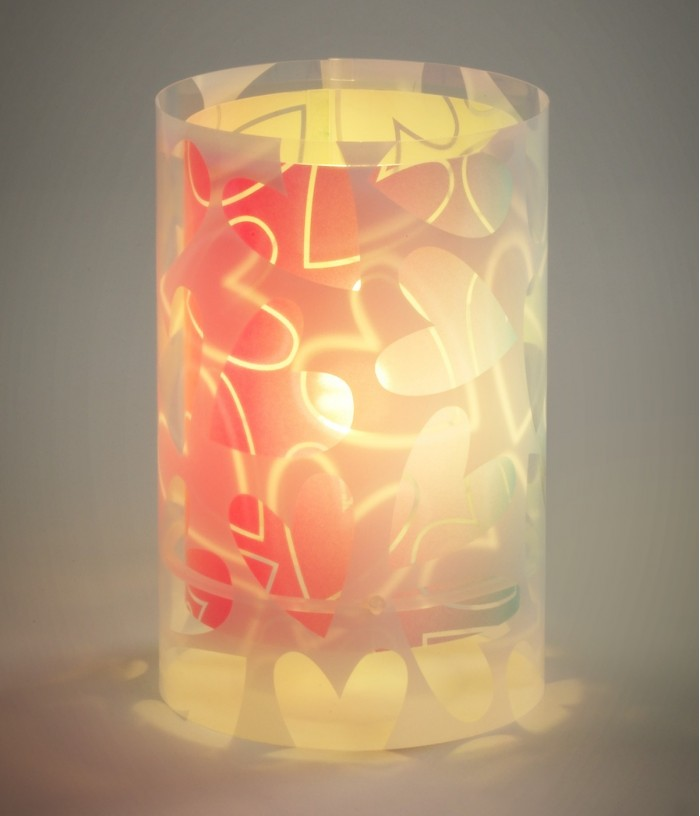 Children's Table lamp Cuore