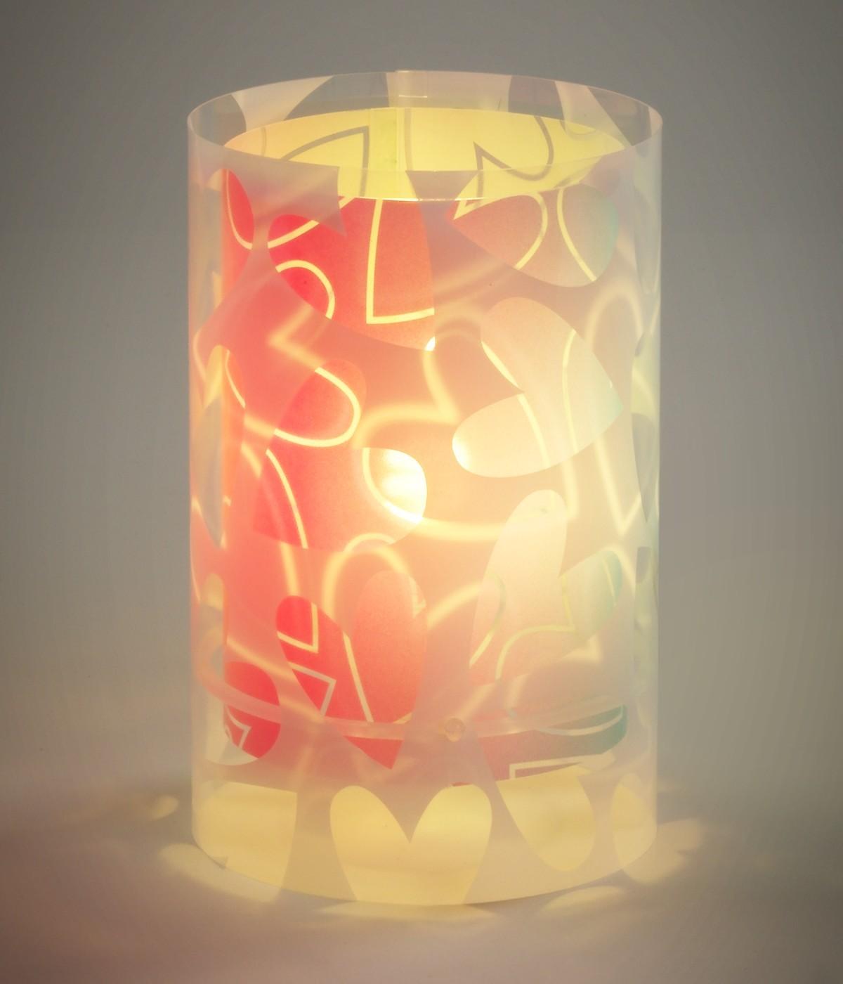 Lámpara infantil de mesita Cuore