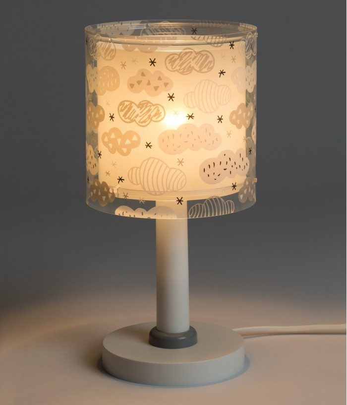 Children table lamp Clouds...