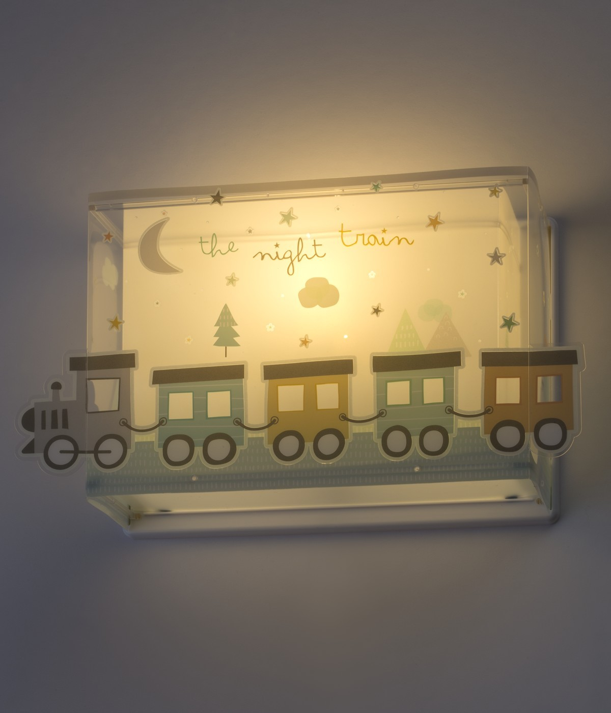 Applique murale pour enfants The Night Train