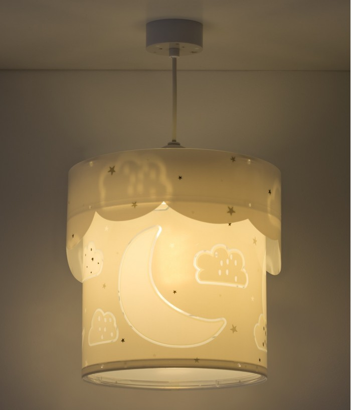 Luminária infantil de tecto...