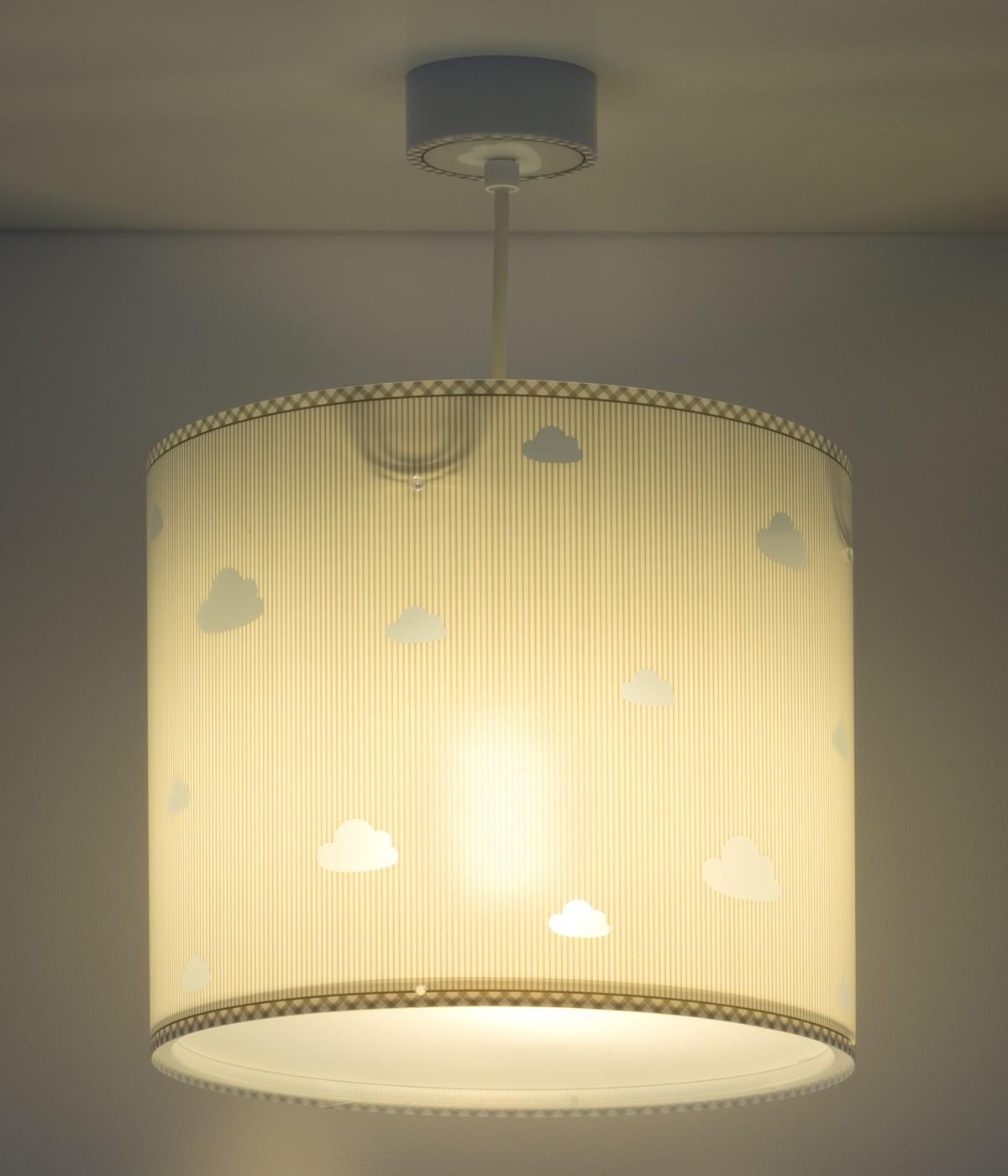 Children hanging lamp Sweet Dreams gray
