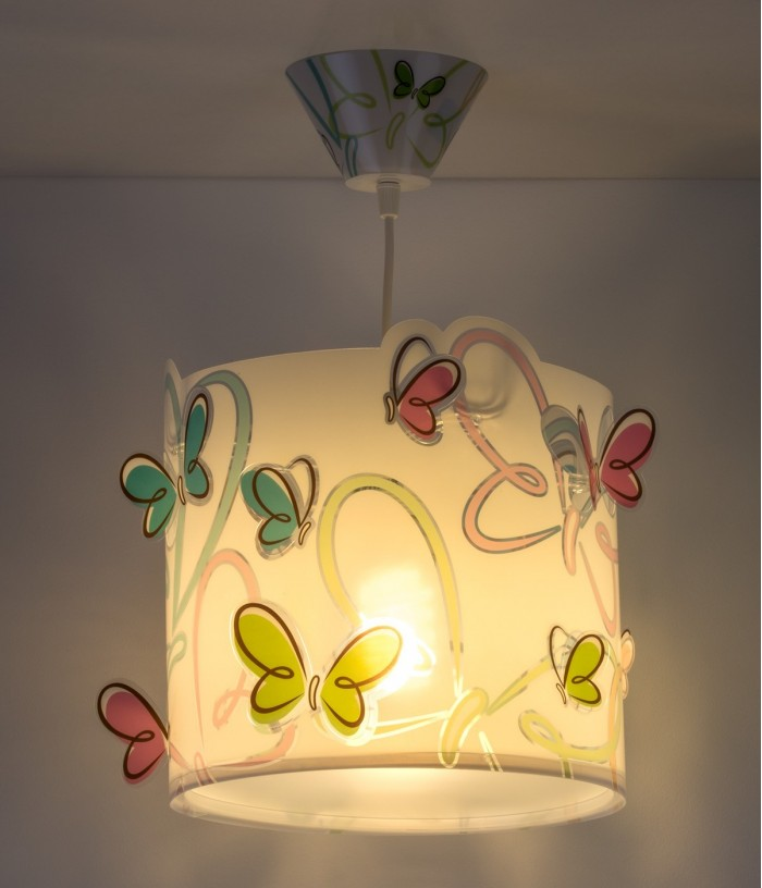 Children hanging lamp Butterfly