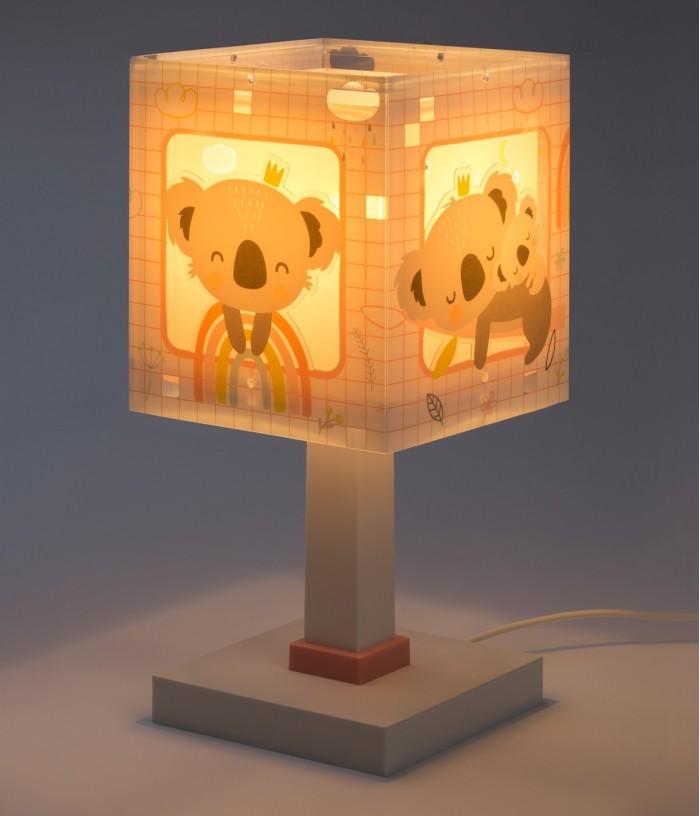 Lampada da comodino per bambini Koala rosa