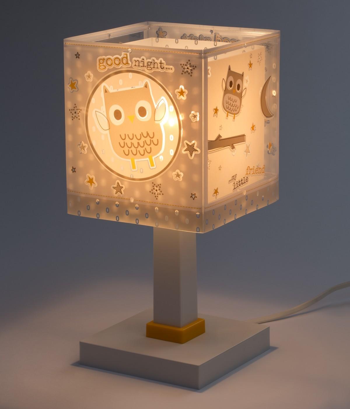 Lampe de chevet pour enfants Good Night