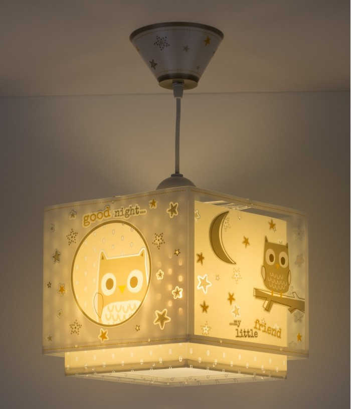 Children hanging lamp Good Night