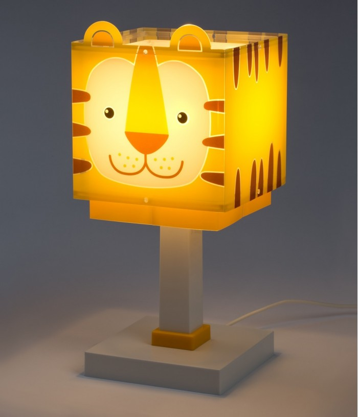 Lámpara infantil de mesita Little Tiger