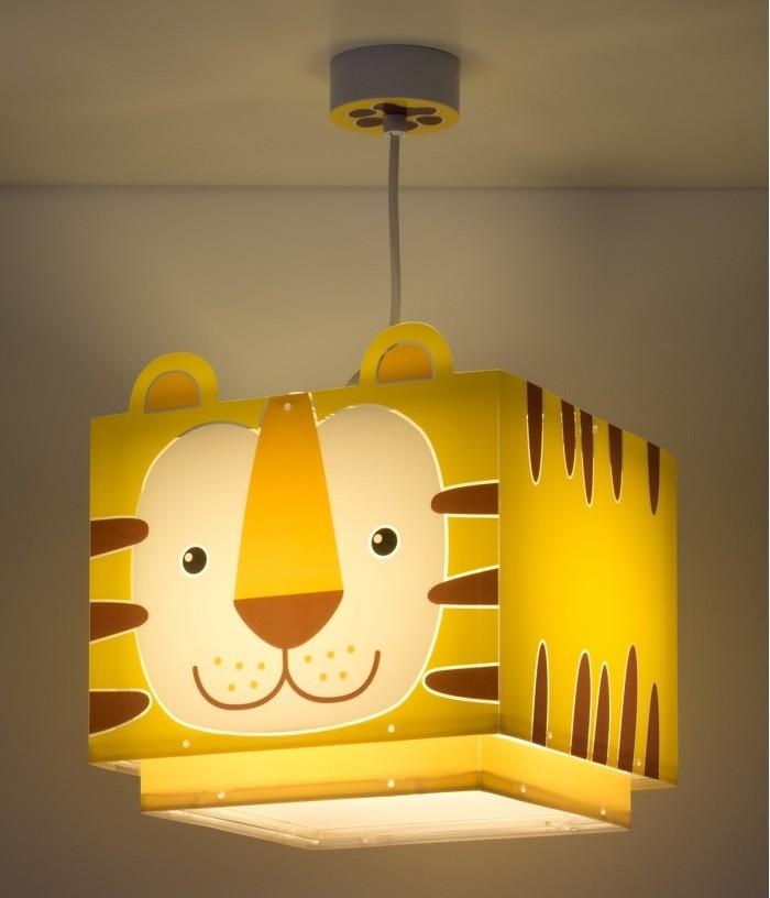 Lampada da soffitto per bambini Little Tiger