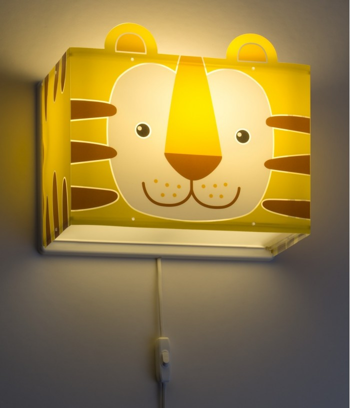 Aplique infantil de pared Little Tiger