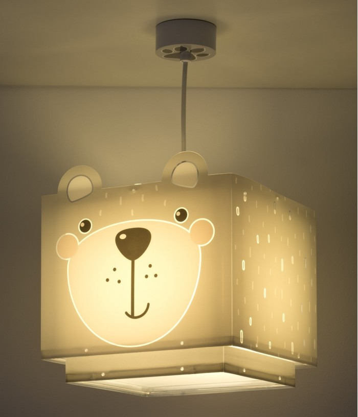 Children hanging lamp Little Teddy