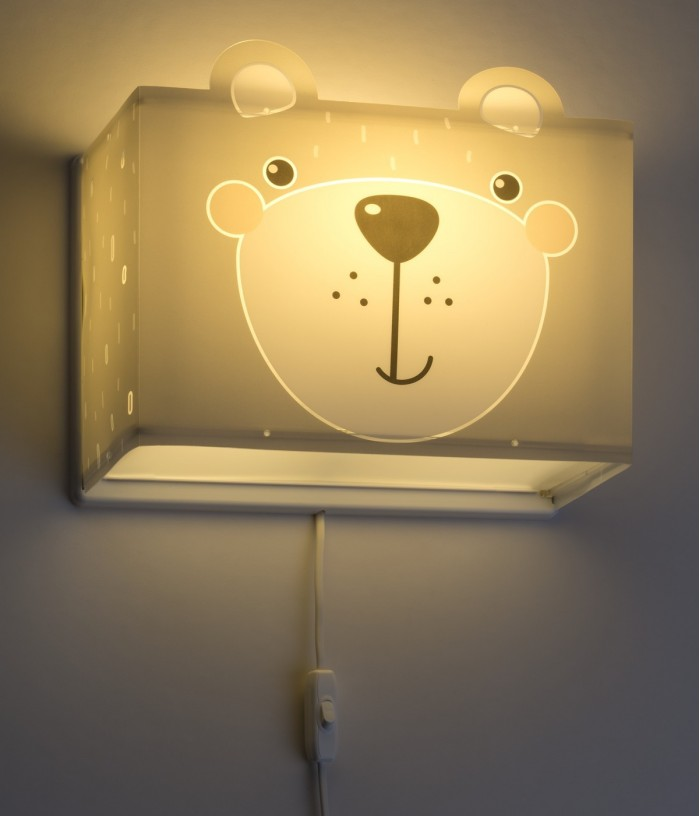 Aplique infantil de pared Little Teddy