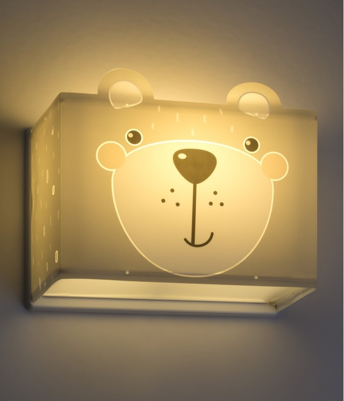 Applique de parete per bambini Little Teddy