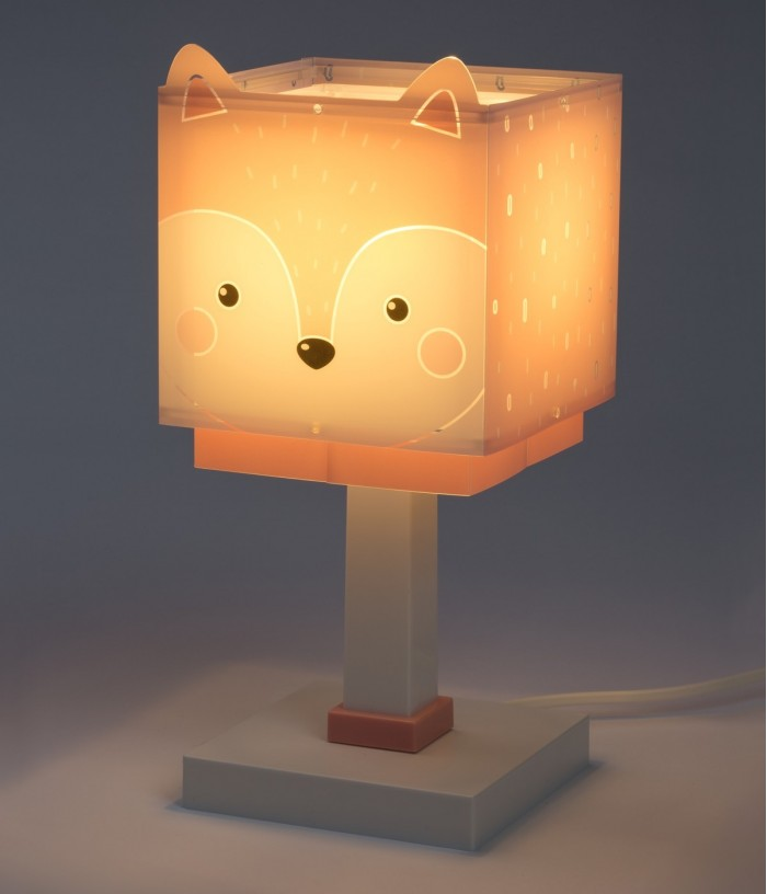 Lámpara infantil de mesita Little Fox