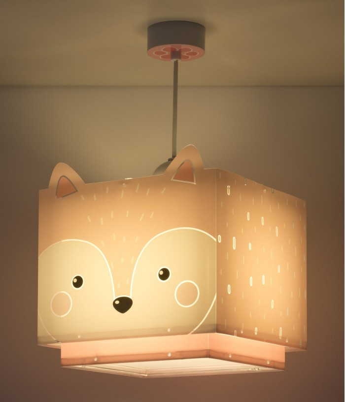 Children hanging lamp Little Fox