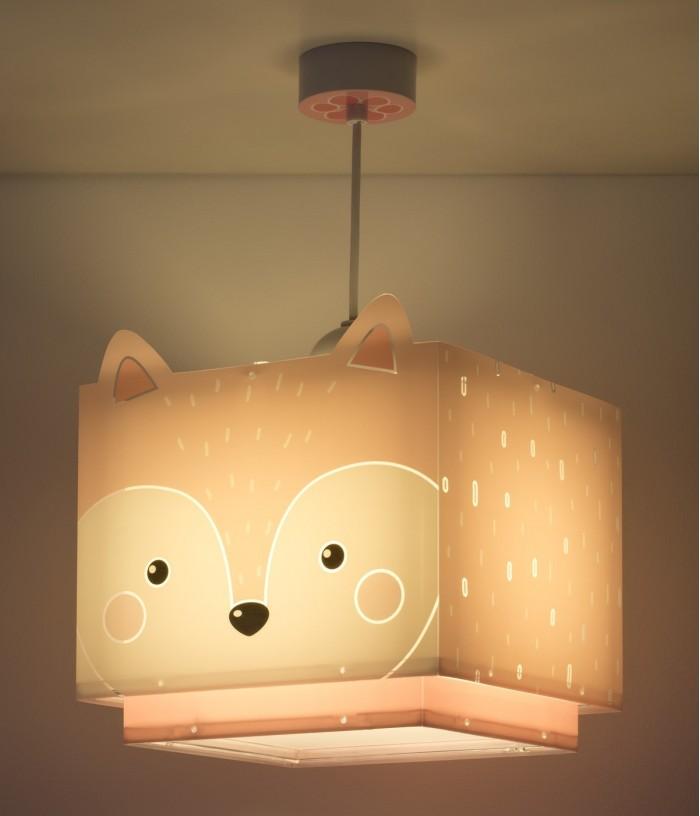 Lámpara infantil de techo Little Fox
