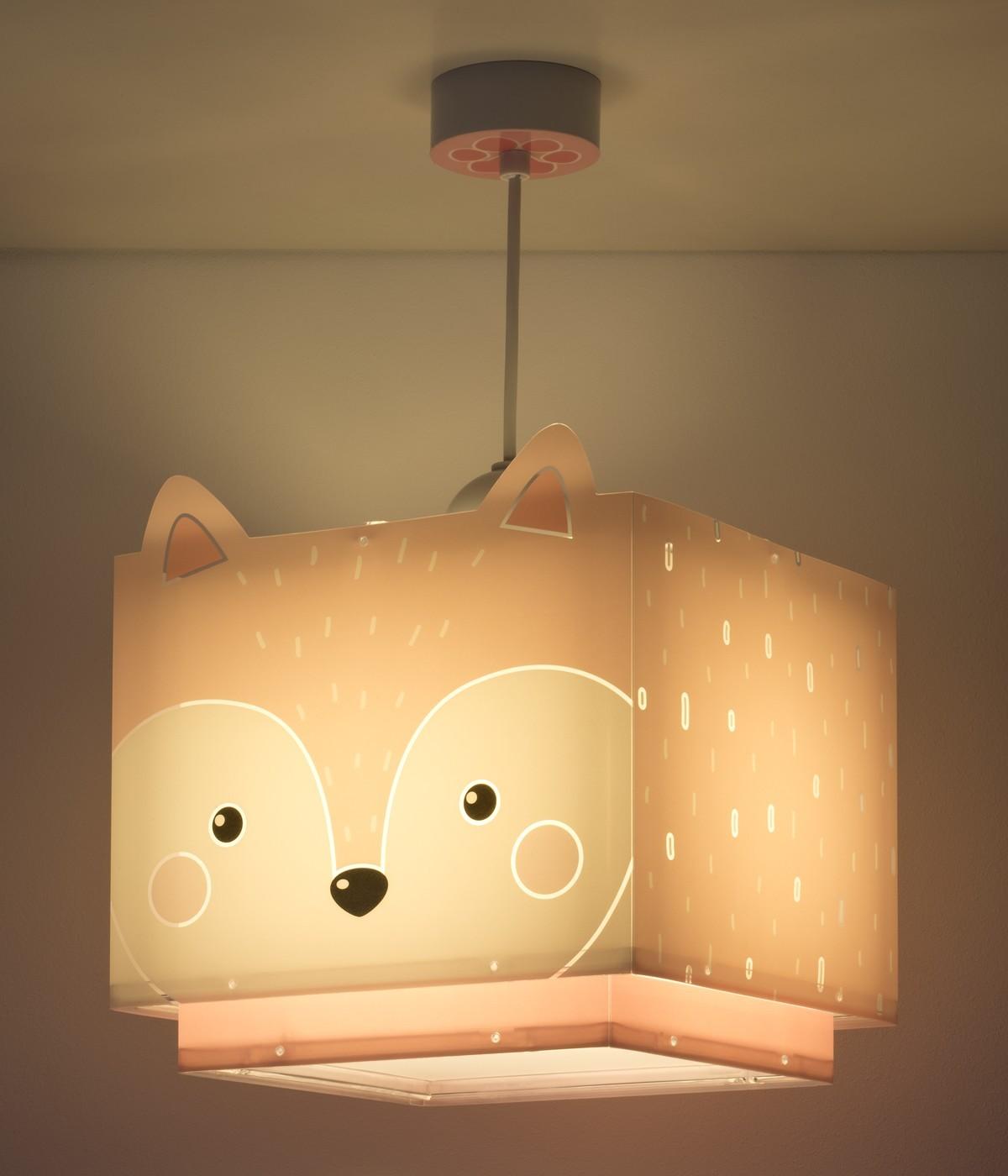 Candeeiro infantil de tecto Little Fox