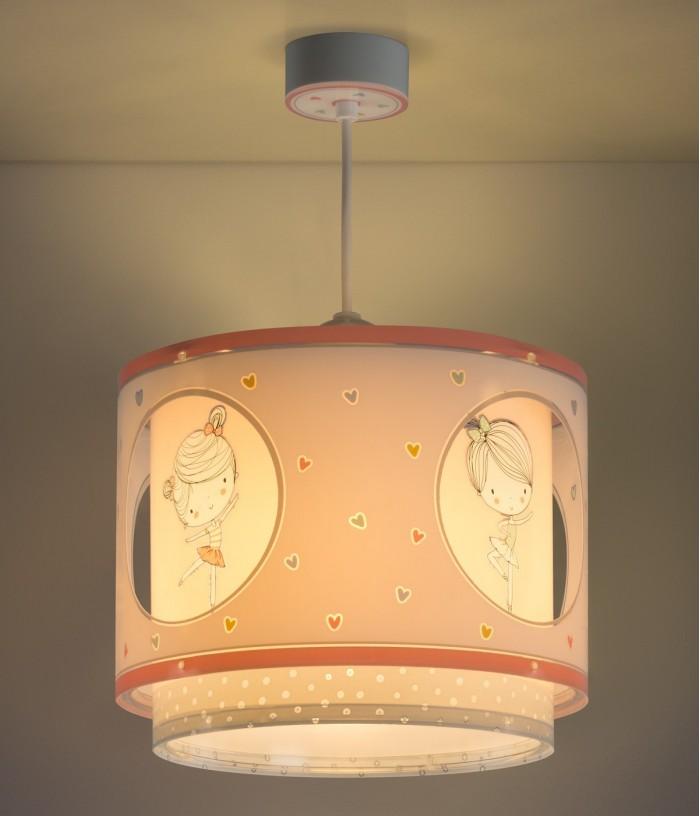 Lámpara infantil de techo Sweet Dance