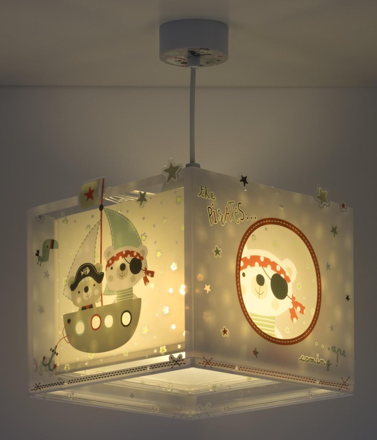 Lámpara infantil de techo The Pirates