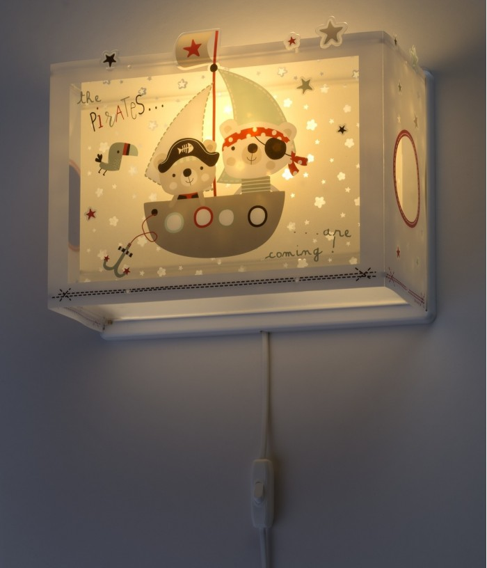 Children wall lamp The Pirates