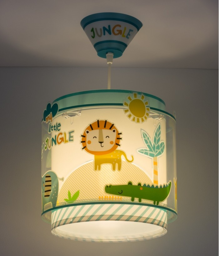 Candeeiro infantil de tecto My Little Jungle