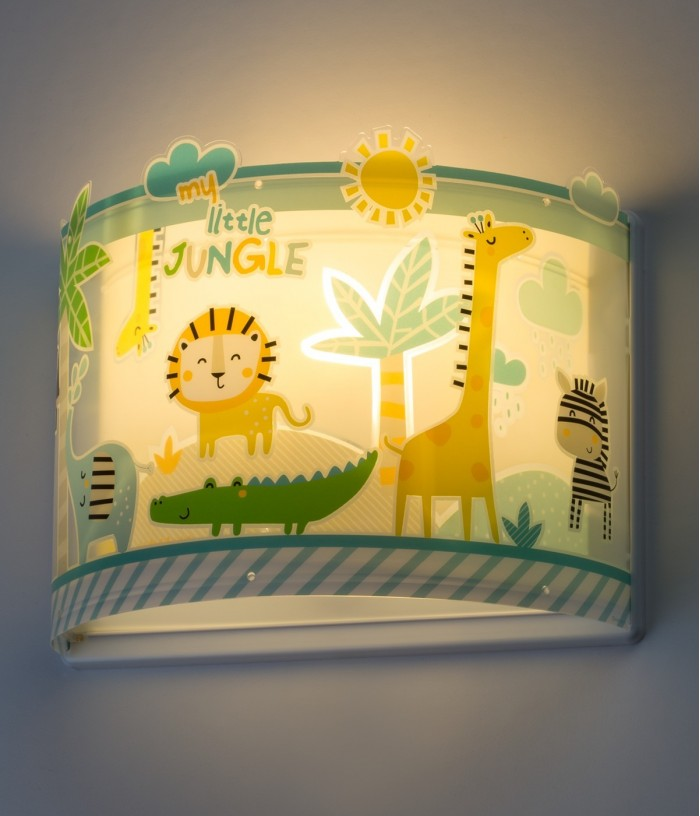 Children wall lamp Little Jungle