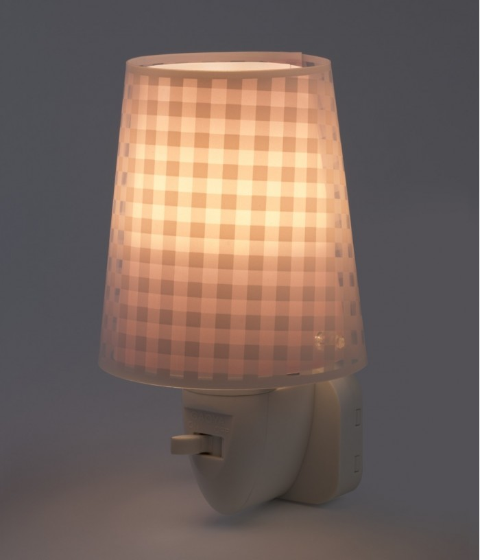 Kids LED Nightlight Vichy pink