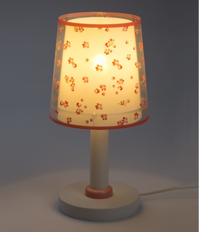 Children table lamp Dream Flowers pink