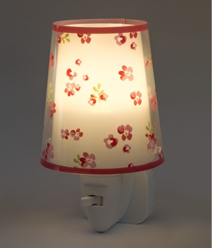 Veilleuse LED pour enfants Dream Flowers rose