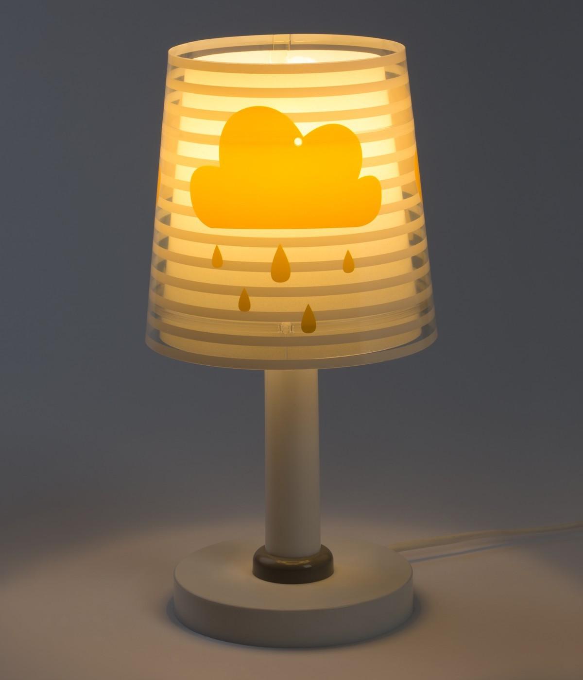 Lampada da comodino per bambini Light Feeling grigio
