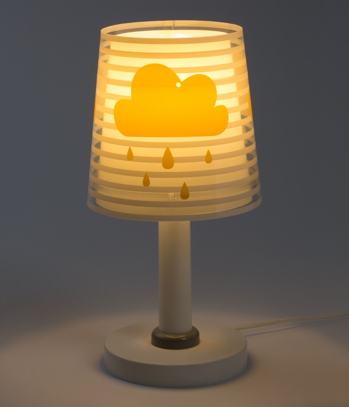 Lámpara infantil de mesa Light Feeling gris