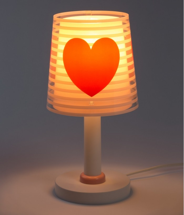 Lampada da comodino per bambini Light Feeling rosa