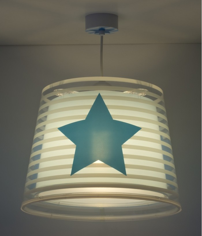 Children hanging lamp Light Feeling blue